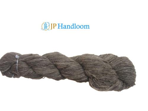 Wild Tussah hand spun silk yarn