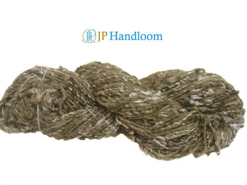 Tussah & Mulberry Mix hand spun silk yarn
