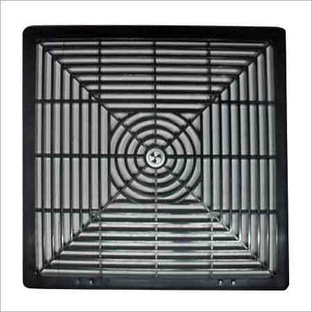 PVC Fan Grill (Square)
