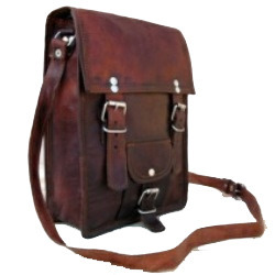 Two Buckle Portrait Bag