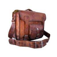Stached bag front pocket