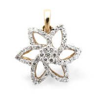 Glowing Star Diamond Pendant