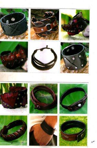 Handmade Designer Leather bracelets