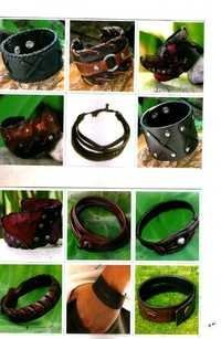 Handmade Designer Leather bracelets