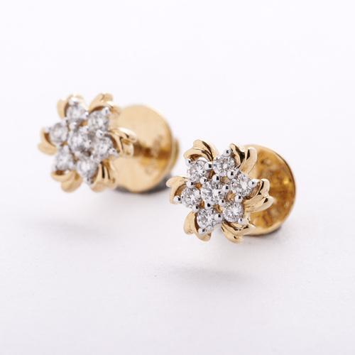 Shimmer and Glittering Earring