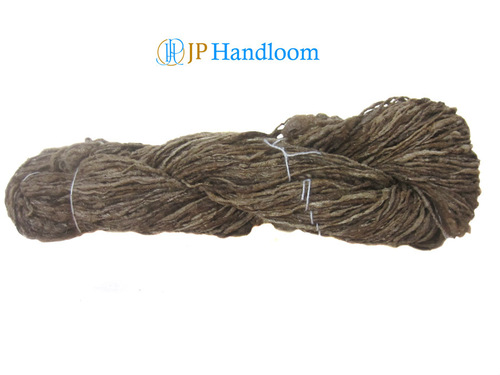 Tussar Thick Natural Hand Spun Silk Yarn