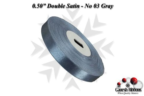 Double Face Satin - Gray