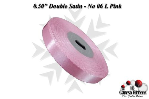 Double Face Satin - L Pink