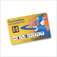 Dual Interface Smart Card