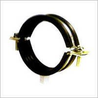 Steel Pipe Clamps with Rubber