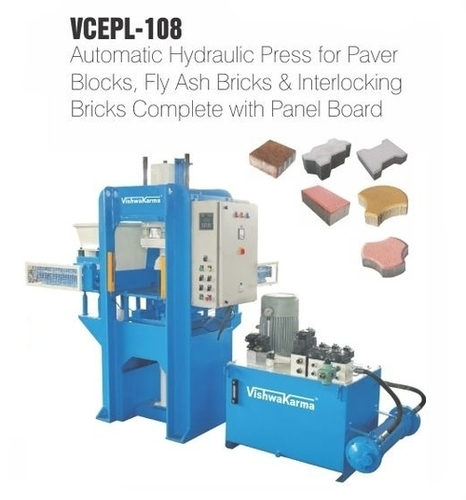 Automatic Bricks Making Press