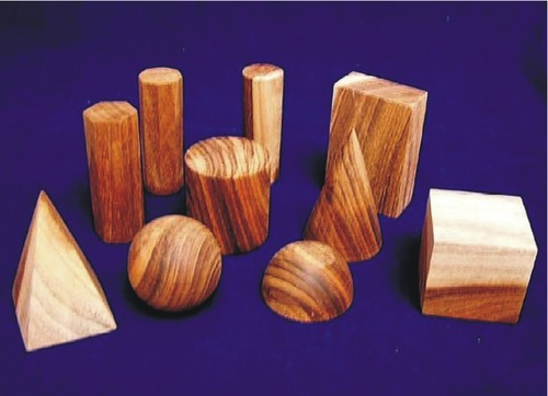 Geometrical Set, Wooden
