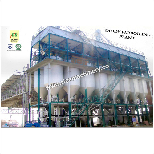 Industrial Paddy Parboiling Plant
