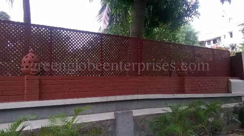 Compound wall Extension lattice Panels