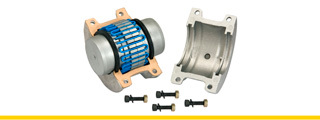 Metallic Couplings Taper Grid
