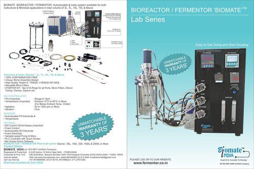 Fermenter Bioreactor Autoclavable