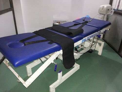 hi low traction table motorised