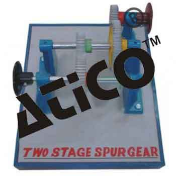 Two Stage Spur Gears
