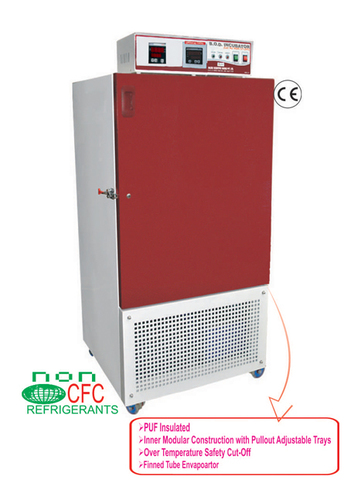 B.O.D. Incubator Low Temperature Deluxe Model