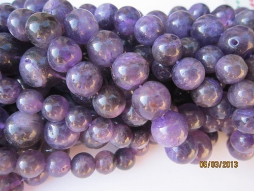 Amethyst Round beads Gemstone