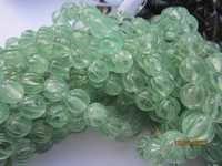 Amethyst carved Round beads Gemstone