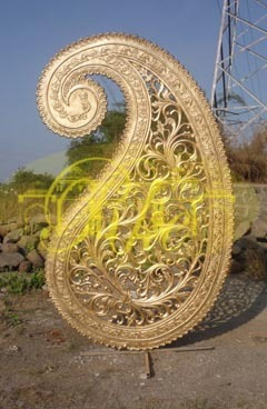 paisley wedding decoration