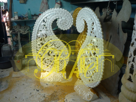 paisly wedding decoration