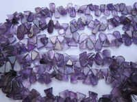 Amethyst drops beads Gemstone