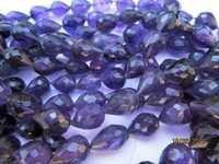 Amethyst drops beads Gemstone