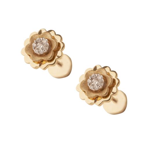 Dazzling lotus Earring