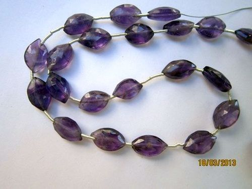 Amethyst faceted marquise beads Gemstone