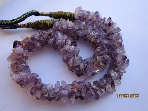 Amethyst Gemstone Chips Beads