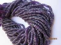 Amethyst Tyre beads Gemstone