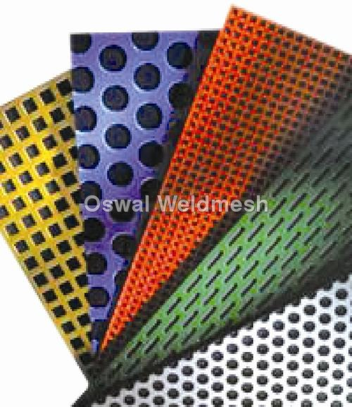PVC Coated Perforated Sheets