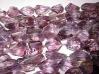 Amethyst Faceted  Nuggets beads Gemstone