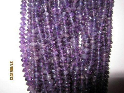 Amethyst Rondell beads Gemstone