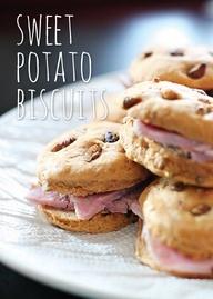 Sweet Potato Biscuite