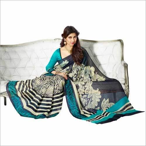 Womens Printed Sarees