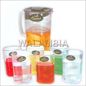 Plastic Water Jug Set