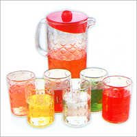 Water Jug Glass Set