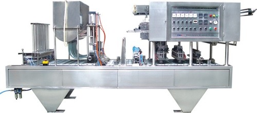 Automatic cupfilling and sealing machine(Pneumati)