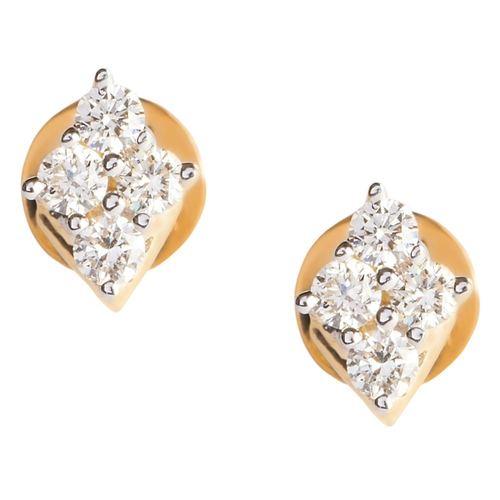 Exquisite Diamond Stud