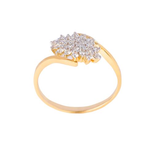 Designer cluster ring