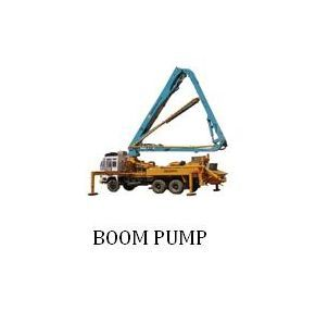 Concrete Boom Pumps