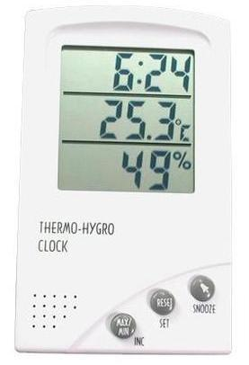 Hygro Thermometer with Clock