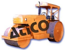 Working Model of Road Roller