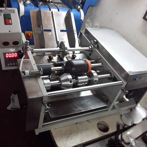 Semi Automatic Glue Labeling Machine