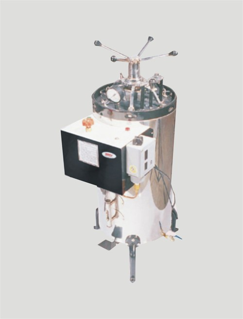 AUTOCLAVE VERTICAL TRIPLE WALLED HIGH PRESSURE FOR DRY STERLIZATION