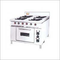 Four In One Burner With Pizza Oven