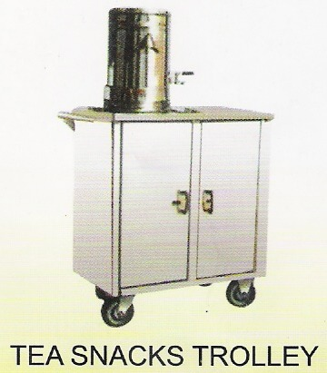 SS Tea Snacks Trolley